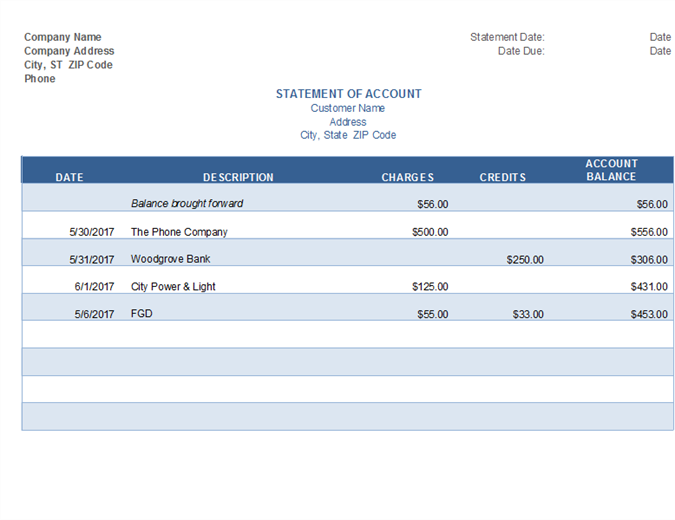 Invoices Officecom - Free invoice template excel