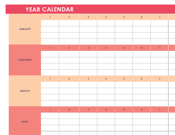 Calendars for Does word have a calendar template