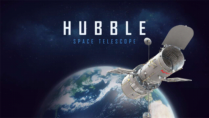 3D PowerPoint (Hubble Telescope model)