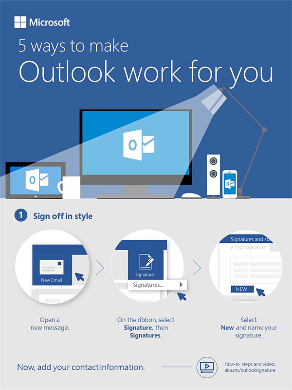 5 ways to make Outlook work for you