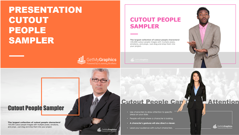 Cutout People Images for Presentations