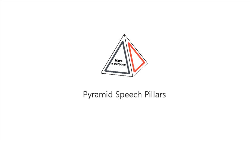 Pyramid Speech Pillars