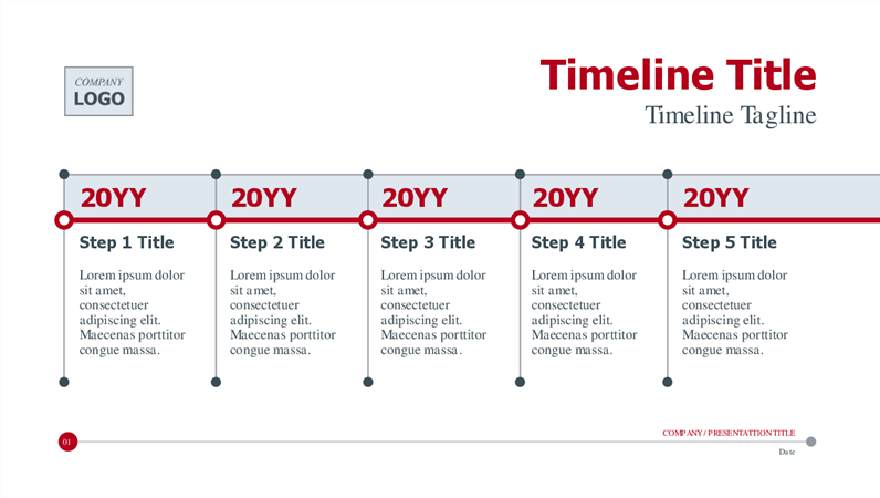 Project Management Timeline Template Word
