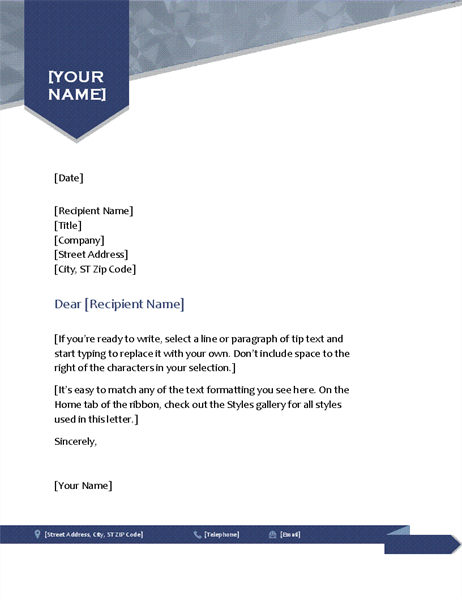 Simple cover letter arrow letterhead thecheapjerseys Image collections