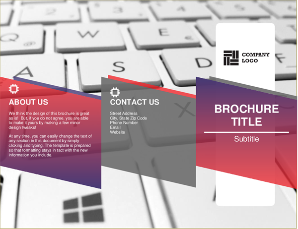 Brochures Officecom - Template for brochure
