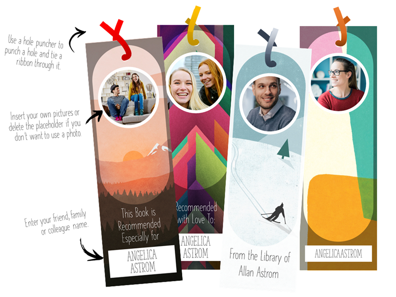 Personalizable bookmarks