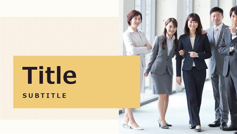 Japanese business presentation