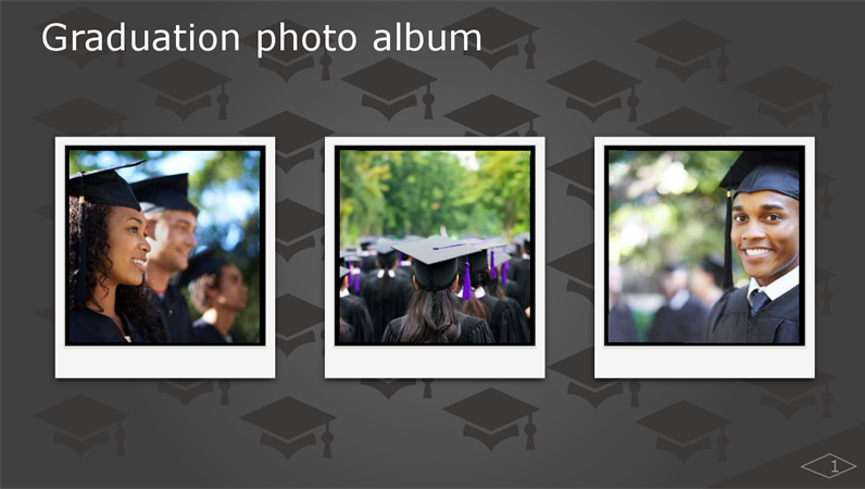 Graduation photo album