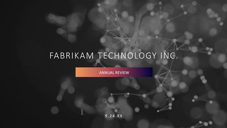 Tech presentation