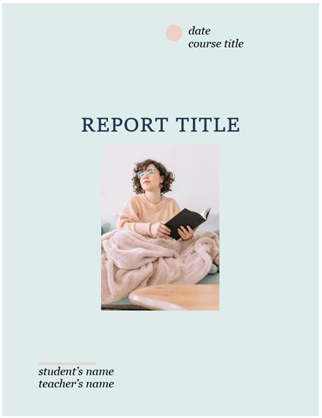 Classic student report