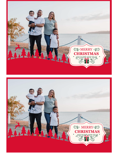 Favorite photos Christmas card