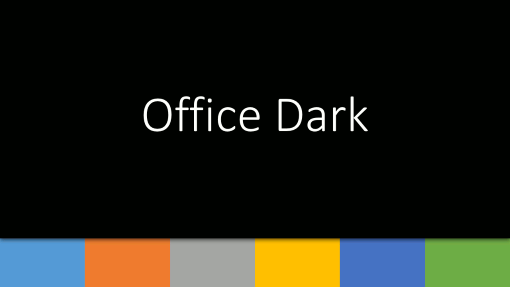 Office Dark