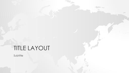 world maps series asia presentation widescreen