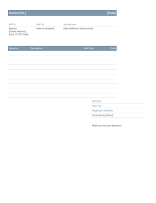 Invoices office business invoice timeless design flashek Choice Image