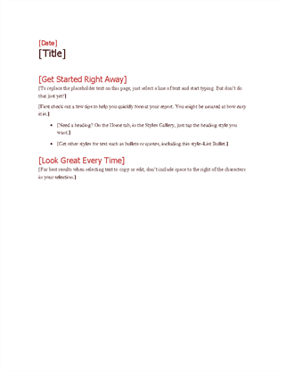 Bold Project Plan Outline - Project plan overview template