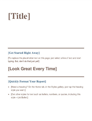 More Templates Like This  Management Summary Template