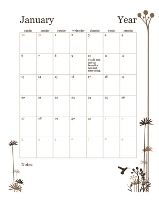 Lesson Plan Office Templates - Monthly lesson plan template