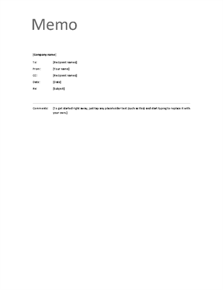 Memos for Interoffice envelope template cover