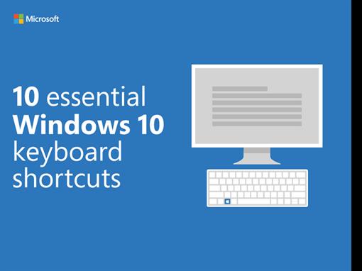 10 essential Windows 10 keyboard shortcuts