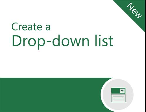Drop-down tutorial