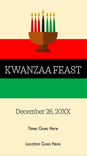 Kwanzaa party printables