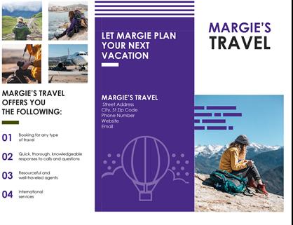 Travel Brochure Office Templates