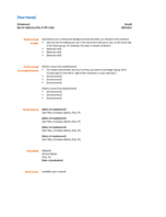 resumes and cover letters   office comresume  functional design