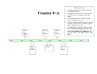 Timelines Office – Blank Timeline Template
