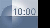 10 minute timer slide