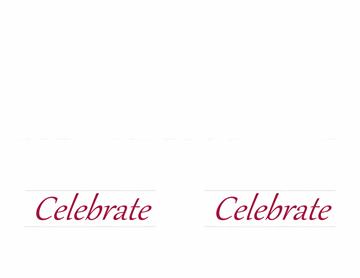 Invitations (Elegant Party design, color, 2 per page)