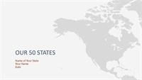 State history report presentation