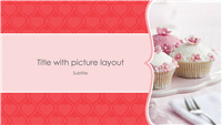 Pink hearts photo album (widescreen)