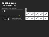 Sugar gram calculator