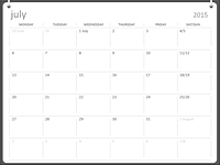 2015-2016 academic calendar (Jul-Jun)