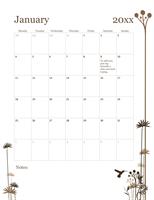 2017 12-month calendar (Mon-Sun)