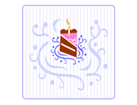 Select-a-language birthday card (quarter-fold, A2 size)