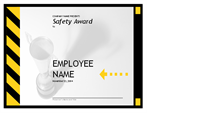 Certificates Office – Free Award Template
