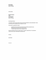 Cover letter in response to ad, short