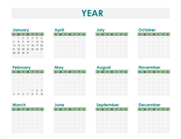 Calendar creator (any year)