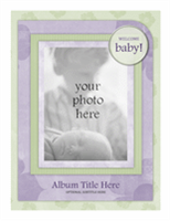 Baby photo album (Flower design)