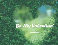 Valentine's Day card (half-fold)