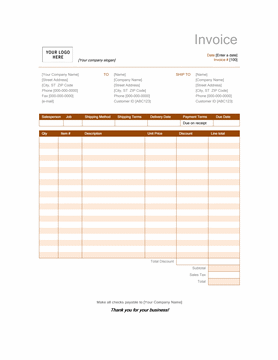Coachoutletonlineplusus  Marvelous Invoices  Officecom With Exciting Sales Invoice Rust Design With Comely Payment Due Upon Receipt Invoice Also A Invoice In Addition Design Invoice Templates And Invoices Templates Word As Well As Free Blank Invoices Printable Additionally Tax Invoice Number From Templatesofficecom With Coachoutletonlineplusus  Exciting Invoices  Officecom With Comely Sales Invoice Rust Design And Marvelous Payment Due Upon Receipt Invoice Also A Invoice In Addition Design Invoice Templates From Templatesofficecom
