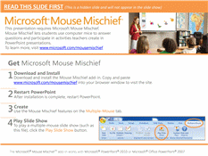 Mouse Mischief What Causes Tides