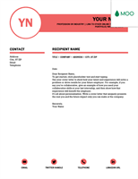 polished cover letter designed by moo word template - Word Templates Cover Letter