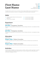 resumes and cover letters office