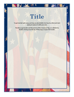 American flag flyer with multiple flags