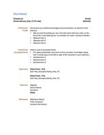 resume functional design resume templates microsoft office