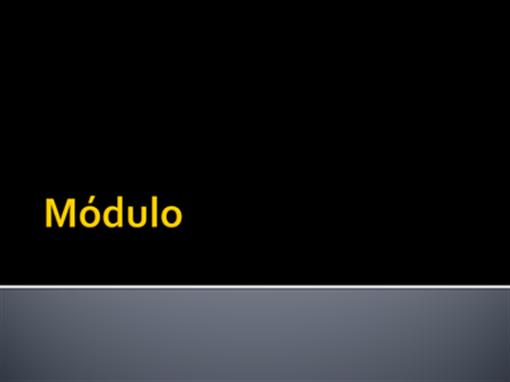 Módulo