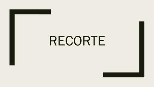 Recorte