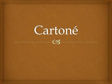 Cartoné